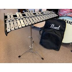 Kyпить Used Pearl Drums Percussion Bell Kit w/ Stand, Mallets and Bag на еВаy.соm