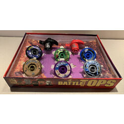 Kyпить Vintage Battle Tops by Idea Village 6 Tops with Bonus Arena Spinning Launch Game на еВаy.соm
