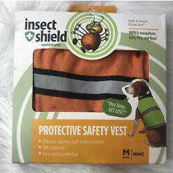 Insect Shield Protective Safety Vest MEDIUM 12  Dog Repellent Gear Jacket NEW