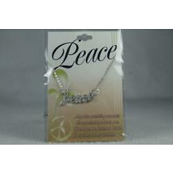 'Peace' By DMM Childs Necklace With Pendant #JFY-NEK NEW In Package