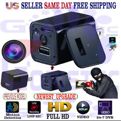 Kyпить Surveillance Spy Camera Security Hidden Motion Detection DVR  HD1080P Charger на еВаy.соm