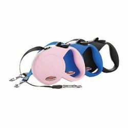 Flexi Retractable Dog Leash S - M For Dogs Up To 44 Pounds 16 ft Blue