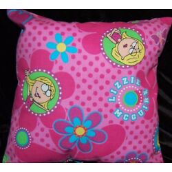 Kyпить NEW HANDMADE LIZZY MCGUIRE   PILLOW SAME FABRIC FRONT AND BACK! на еВаy.соm