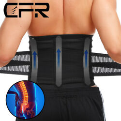 Back Support Lower Back Brace Pain Relief Lumbar Support Belt for Men and Women