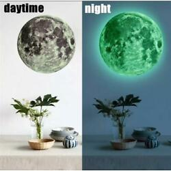 New Luminous Moon Wall Stickers for Kids Room Baby Nursery Home Decoration