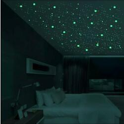 New Luminous 3D Star Dot Bubble Wall Sticker For Bedroom Kids Room Decoration