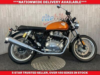 ROYAL ENFIELD INTERCEPTOR 650 ABS MODEL GENUINE LOW MILEAGE 2019 19