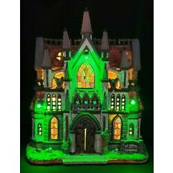Kyпить Lemax Spooky Town ALL HALLOWS CATHEDRAL #65072  Save your soul! BRAND NEW на еВаy.соm