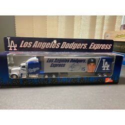 LA Dodgers Express Collectible MLB Die Cast Tractor Trailer, NEW