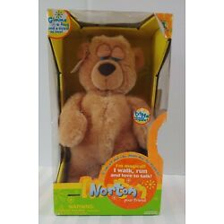 Kyпить Trendmasters Norton Your Friend New Plush Walking Talking Sneezing Teddy Bear на еВаy.соm