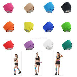 2 Roll Elastic Kinesiology Tape Various Colour Cotton Athletic Muscle Bandage