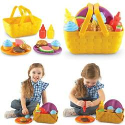 Kyпить Learning Resources New Sprouts Picnic Set, Toddler Outdoor Toys, Pretent Play Fo на еВаy.соm