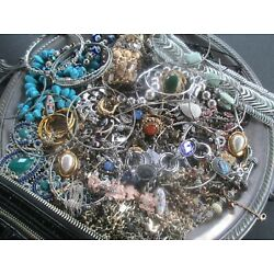 Kyпить  Huge! Vintage to Now JUNK DRAWER Estate Jewelry Lot Unsearched w/ Coach wallet на еВаy.соm