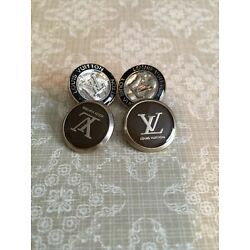 Kyпить lot4 vintage  Authentic Chanel Buttons Stamped 18mm на еВаy.соm