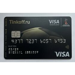Kyпить Bank Card Visa FIFA WC 2018 Russia FIFA World Cup NEW на еВаy.соm