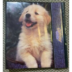 Kyпить Rare Cuddly Cuties 3 Ring Binder Puppy Elizabeth Flynn S&E Photo No 1875 на еВаy.соm