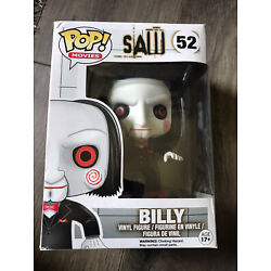 Kyпить Funko Pop Movies Saw Billy Funko #52 Vaulted Box DAMAGE With Pop Protector на еВаy.соm