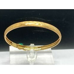 Kyпить 14K Yellow Gold Bangle Bracelet Baby Child Childern's на еВаy.соm