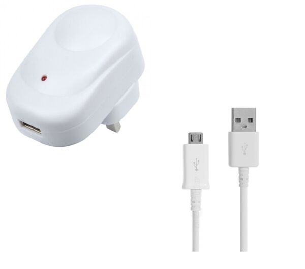 London,United KingdomPowerfast  - 2.1 Amp Charger With White Micro  Cable For Nook Kobo Tablets