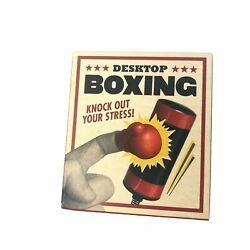 Kyпить Desktop Boxing with Gloves & Bag Miniature Kit 3