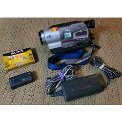 Kyпить Sony Handycam CCD-TR818 Camcorder 8mm Hi8 Recorder Player Video Transfer на еВаy.соm