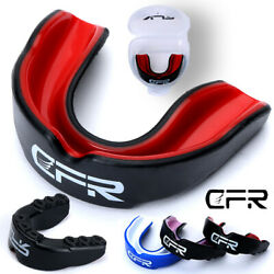Gel Gum Mouth Guard Shield Case Teeth Grinding Boxing MMA Sports MouthPiece CFR