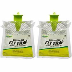Kyпить RESCUE! Outdoor Disposable Fly Trap – 2 Pack 2-Pack, Grey  на еВаy.соm