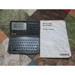CASIO BOSS SF-5300 Business Organizer Scheduling System 64 MB & Manual