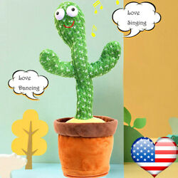 Kyпить Dancing Cactus Plush Toy Electronic Shake with Song Succulent Kids Gifts US на еВаy.соm