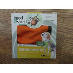 Insect Shield Repellent Gear Orange Breathable Mesh Tank SZ XXL - NEW IN BOX