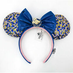 2021 WDW Annual Passholder Minnie Mouse Ears Disney Parks Headband Exclusive