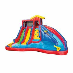 Banzai Hydro Blast Inflatable Water Slide Aquatic Activity Park Play (For Parts)