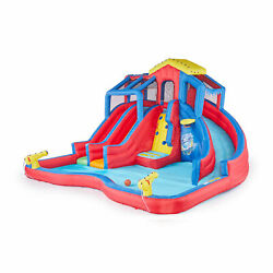 Banzai Hydro Blast Inflatable Water Park with Slides and Water Cannons(Open Box)