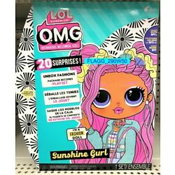 LOL Surprise! OMG Sunshine Gurl BFF Fashion Doll 20 Surprises OPPOSITE Clubs NEW