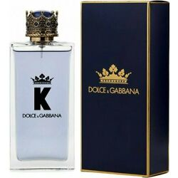 K by Dolce & Gabbana KING cologne for men EDT 5 oz New in Box