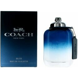 COACH NEW YORK BLUE by Coach cologne for men EDT 3.3 / 3.4 oz New In Box