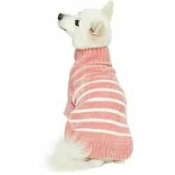 Dusty Rose Dog Sweater 18 Inch Blueberry Pet 100% Polyester Super Soft New! Cute