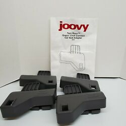 Joovy Twin Roo+ Graco Click Connect Car Seat Adapter 9030