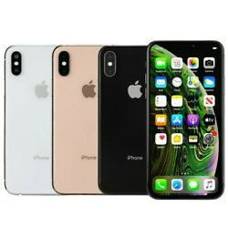 Apple iPhone XS 64GB Factory Unlocked AT&T T-Mobile Verizon Very Good Condition