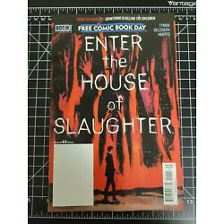 ???????? FCBD 2021 ENTER THE HOUSE OF SLAUGHTER No Stamp Gemini Shipping in hand