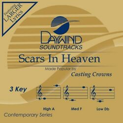Casting Crowns - Scars In Heaven - Accompaniment / Performance Track - New