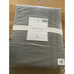 Pottery Barn Kids cargo duvet cover twin, Gray, New With Tags