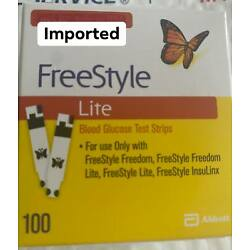 100 Free Style  Lite Test Strips Exp 05/2023 this week 39.99