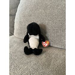 TY Beanie Baby Waves 1996 With Tags