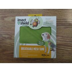 Insect Shield Repellent Gear Green Breathable Mesh Tank SZ XXL - NEW IN BOX