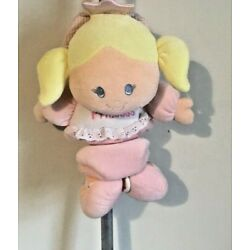 Carters Musical Princess Doll Crib Stroller Hanging Pull Toy For Baby