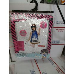 DISGUISE L.O.L. SURPRISE! POP HEART 4-6X SMALL CHILD COSTUME 240 16 4020 NEW