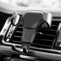 Car Automatic Telescopic Mobile Phone Holder Air Outlet Gravity Cellphone Stand