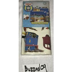 NEW *SEALED* THOMAS THE TRAIN FRIENDS PEEL & STICK STICKERS APPLIQUES RMK1035SCS