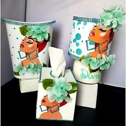 Diva 3pc Handcrafted Home Deco Collection
